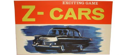 Z Cars - Retro Family Board Game